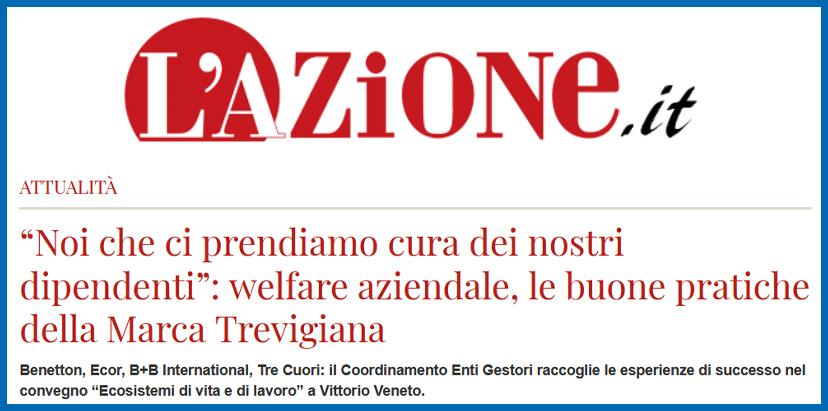 L'AZIONE – Welfare aziendale, le buone pratiche della Marca Trevigiana