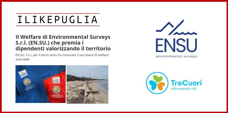 I LIKE PUGLIA – Il Welfare di Environmental Surveys S.r.l. (EN.SU.) che premia i dipendenti valorizzando il territorio